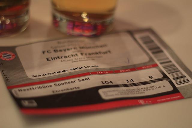 Munich Adidas FC Bayern München ticket lisforlois
