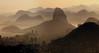 RIO DE JANEIRO  -  VISTA CHINESA - AMANHECENDO NO RIO