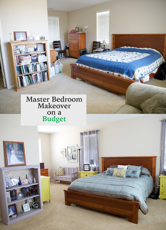 emmy mom one day at a time master bedroom makeover on a budget