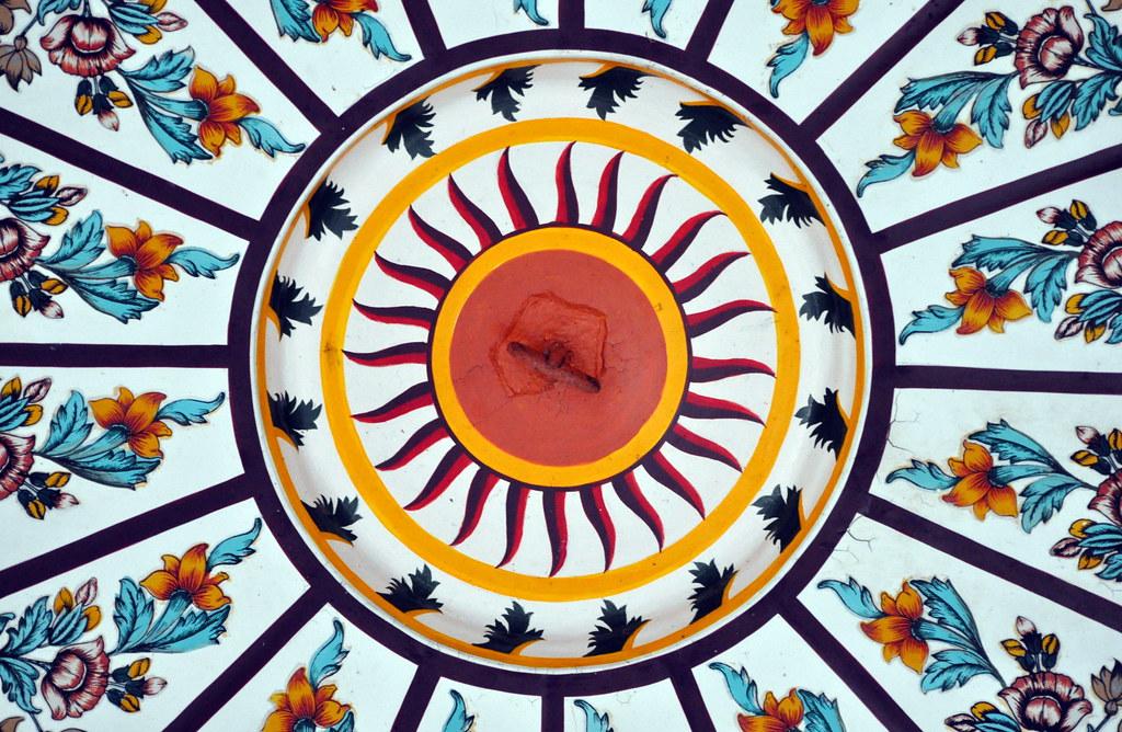 Image result for sikh frescoes sun