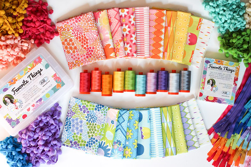 Favorite Things Aurifil Thread Collection - Dreamin' Vintage
