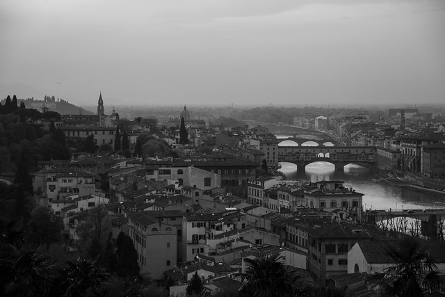 Ponte Vecchio From Above