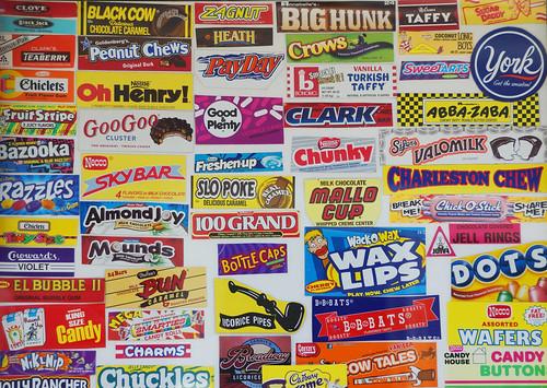 Candy Sign, New Paltz, NY, 5-4-2014