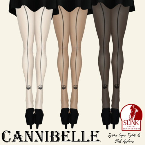 ~Cannibelle~ Crown Seam Tights