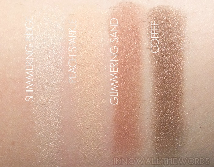 Avon True Colour Eyeshadow Quads- Naked Truth (3)