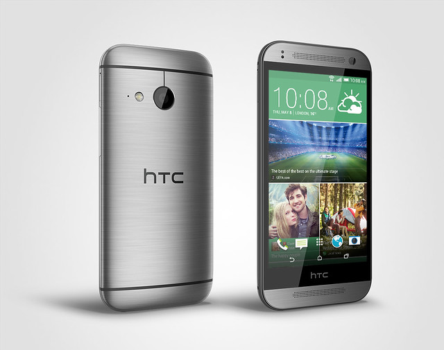 HTC One mini 2晶絲灰