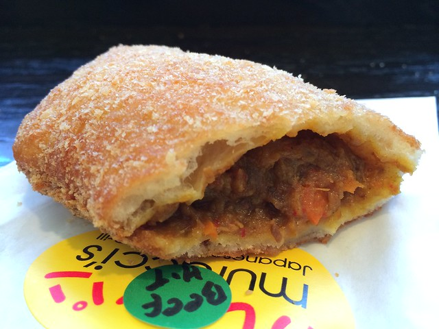 Hot beef curry pan - Muracci's Japanese Curry & Grill