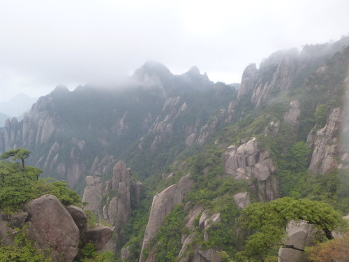 Jiangxi-Sanqing Shan-3 sentier du soleil (61)