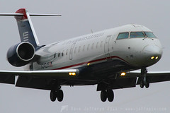 N242JS CRJ200 US Airways Express