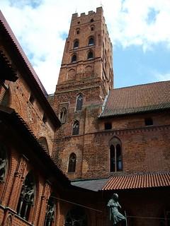 Innenhof der Marienburg