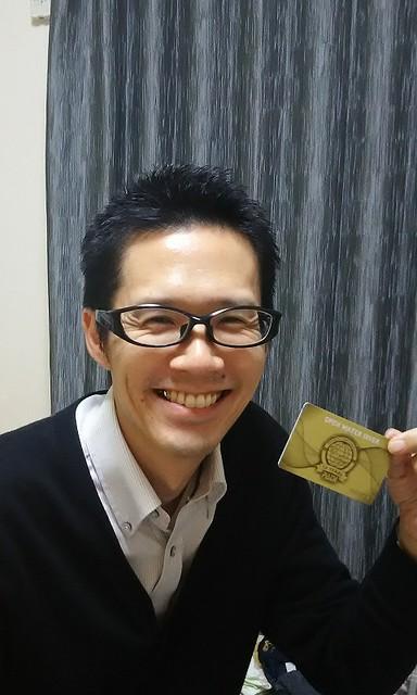 OWDのCカード!届いたのが嬉しくてメールくださいました☆