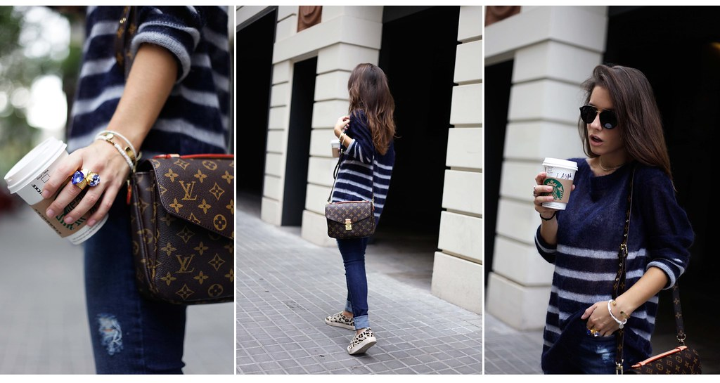 010_CASUAL_OUTFIT_LEOPARD_AND_STRIPES_BLOGGER_BARCELONA_THEGUESTGIRL