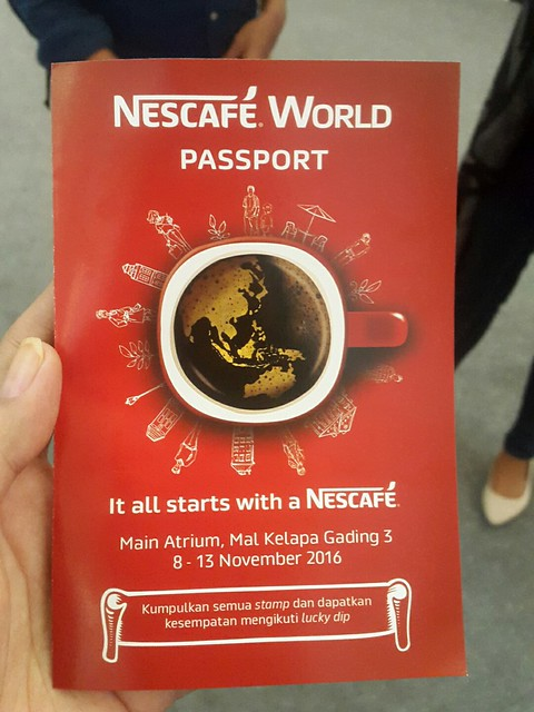 Nescafe World 9-13 Nov 2016, Mal Kelapa Gading 3.