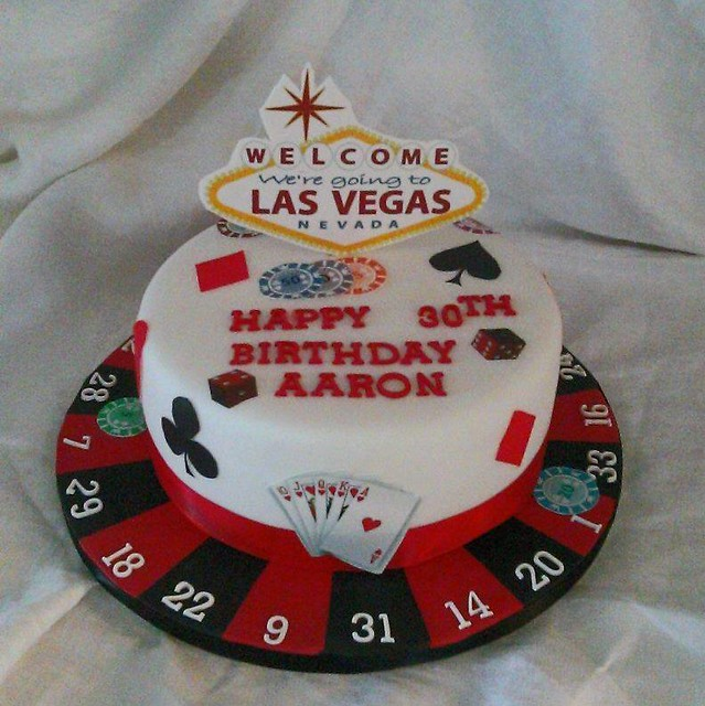 Las Vegas Cake by Sharon Rout of Bake A Cake WSM