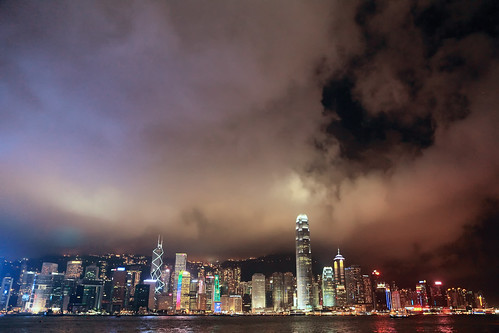 维港夜景 Victoria Harbour's Nightview