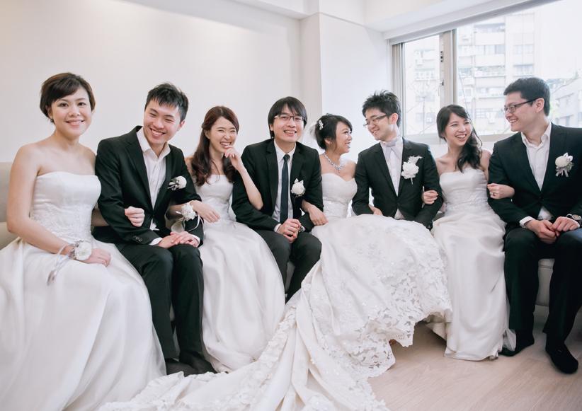 艾美婚攝-艾美酒店-婚禮記錄-伴娘服