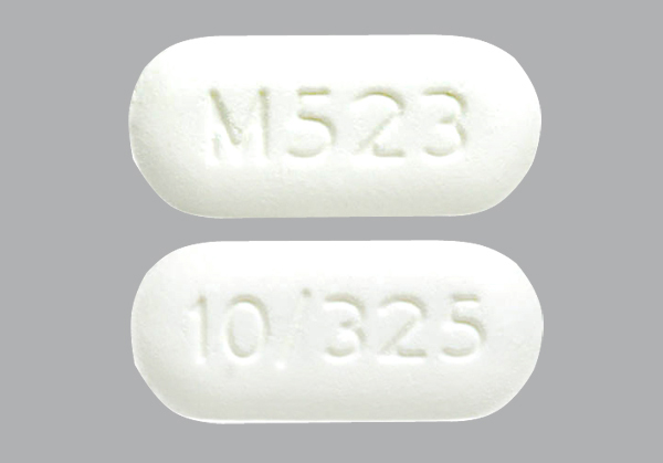 Pill White Tablet Round Number  Letter M In Square