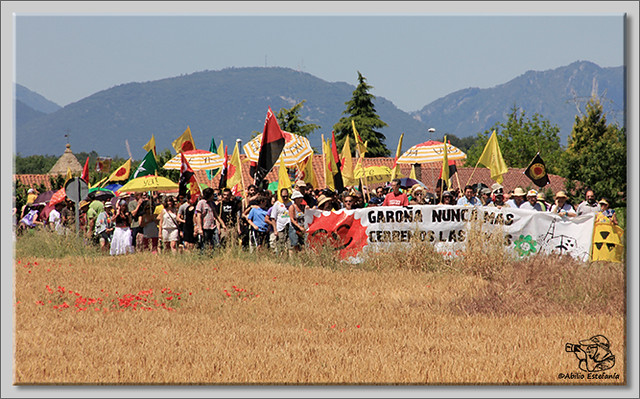 3 manifestación contra Garoña