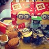 In the name of #minion Dave Banana. Two meals for just me. #happymeal #davebanana #eatingalone #minion #despicableme2 #aphotoaday #14of365