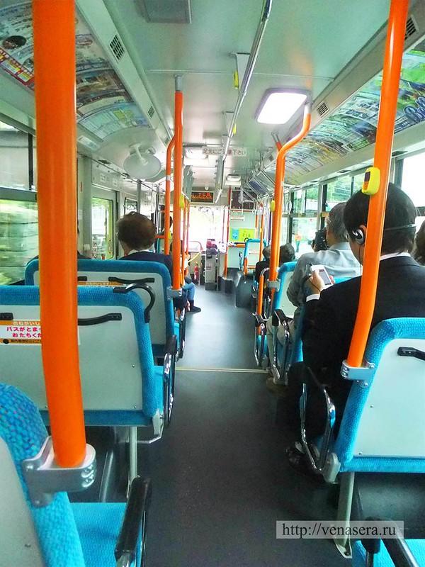 Автобус в Камакура