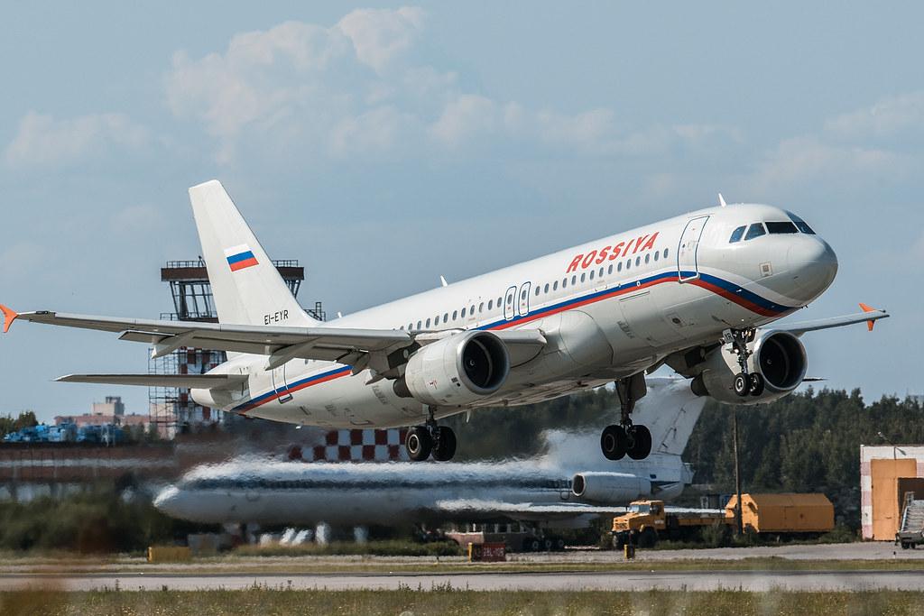 A320-214 takeoff from Pulkovo ULLI