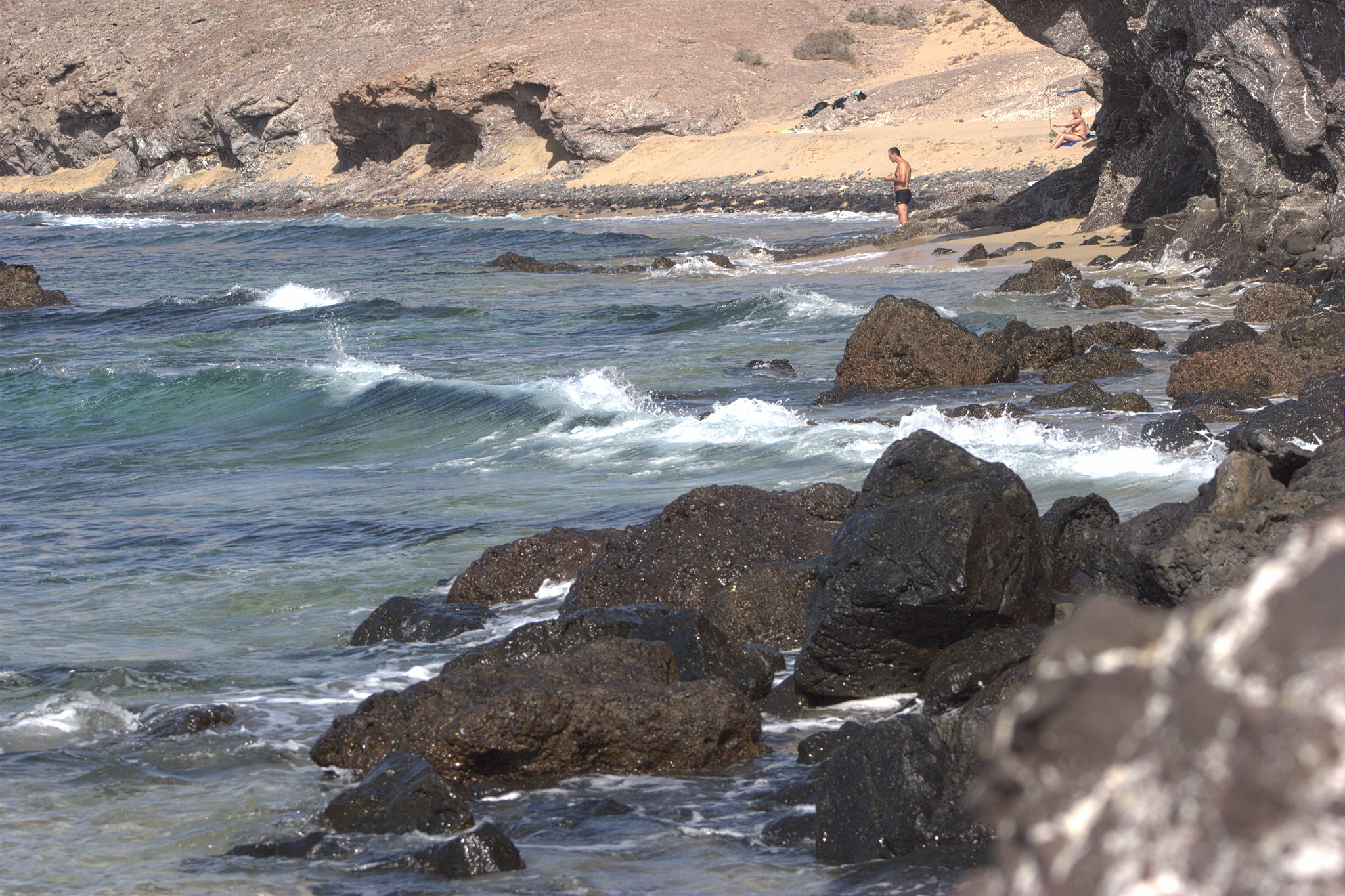 Papagayo. The Naturist Beach.