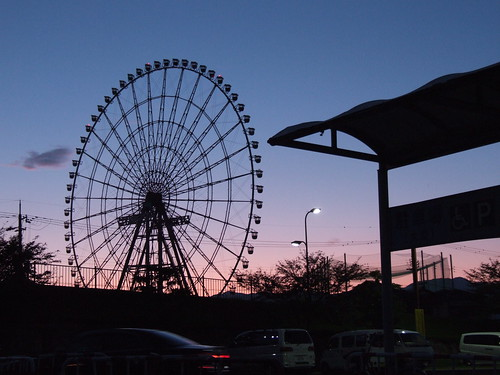 2009MyBest_琵琶湖大橋のたもとで