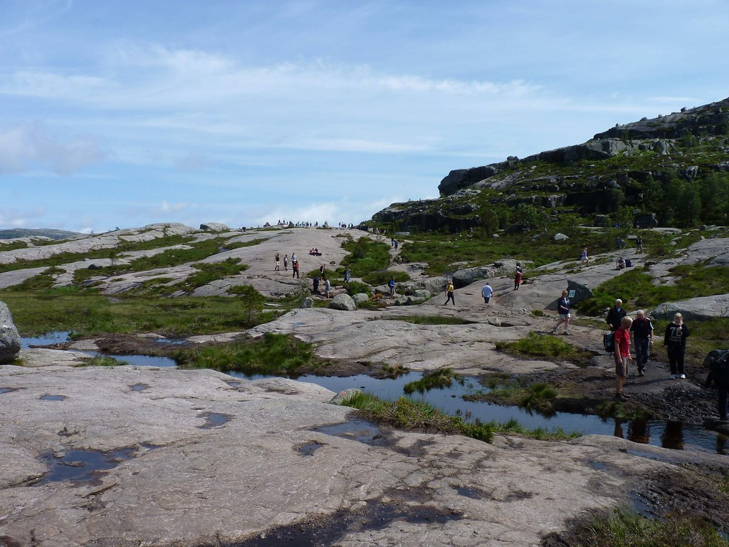 The plains of Preikestolen