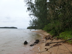 veregnetes Strandparadies - Insel vor Sihanoukville