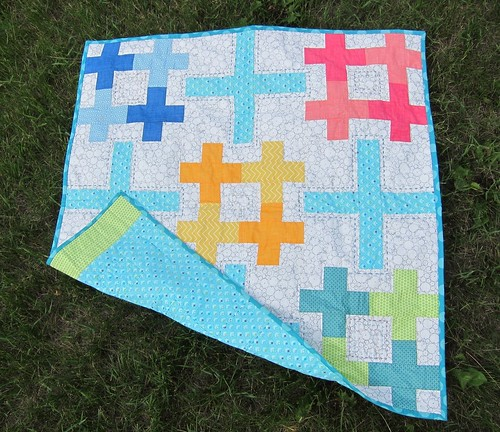 Sew Positive Baby Quilt