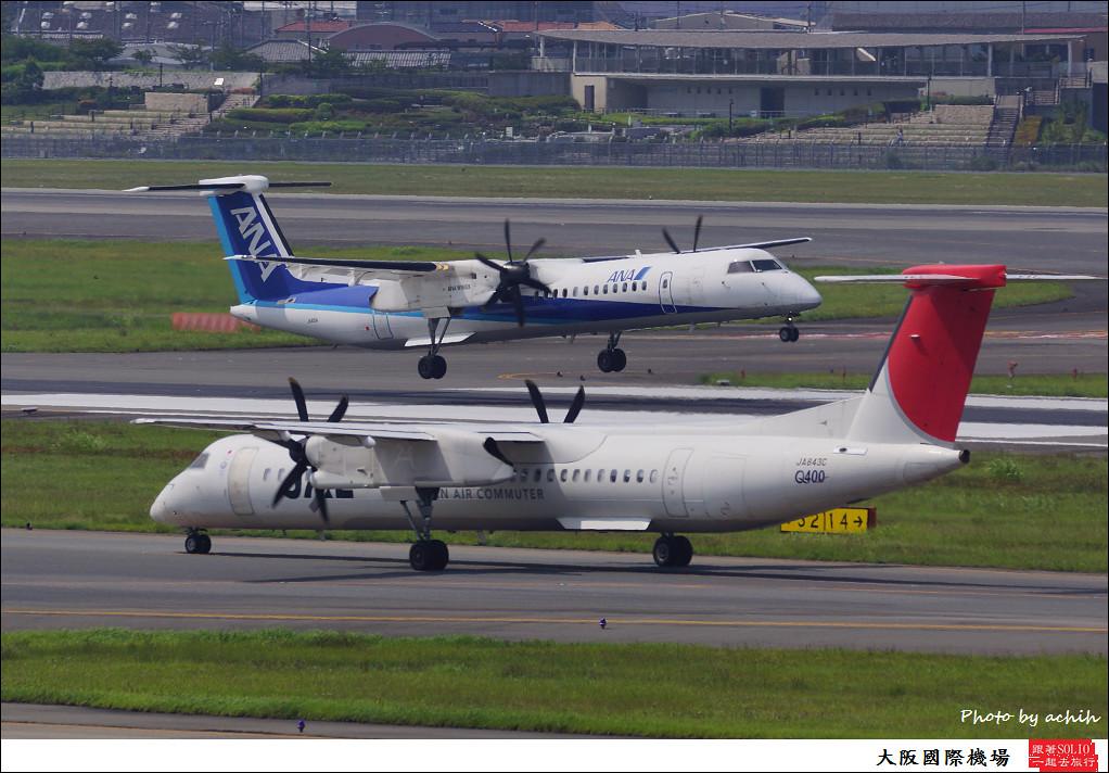 Japan Airlines - JAL (Japan Air Commuter - JAC) JA843C-001