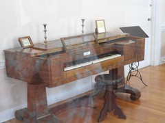 Piano owned by St Elizabeth Ann Seton