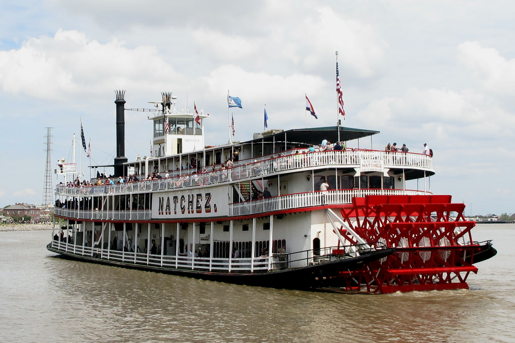 Explore the city by land and by steamboat down the mighty Mississippi