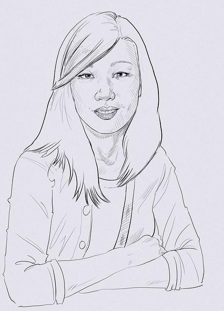 Yoko Sketch