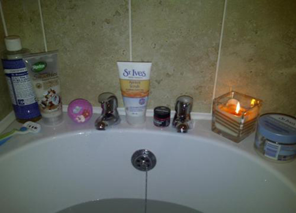Bath Time Beauty Products