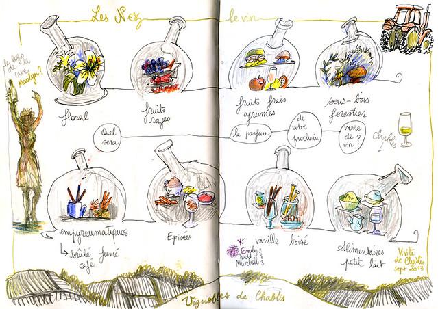 Bourgogne-Chablis-vignes