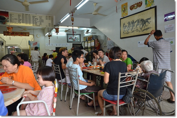 Breakfast Crowd @ Huang Chang