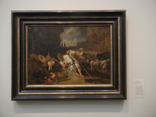 DSCN8019 _ Mercury and Argus, c. 1645-47, Carel Fabritius (c. 1622-1654), LACMA