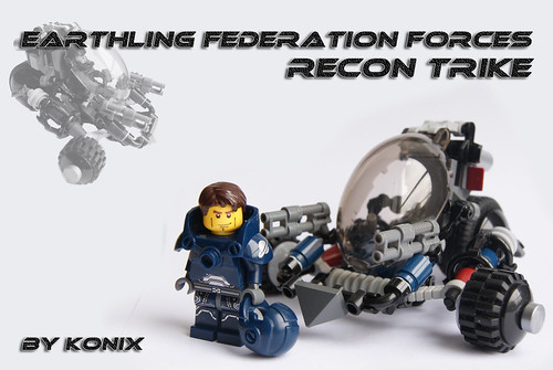 Recon trike and pilot