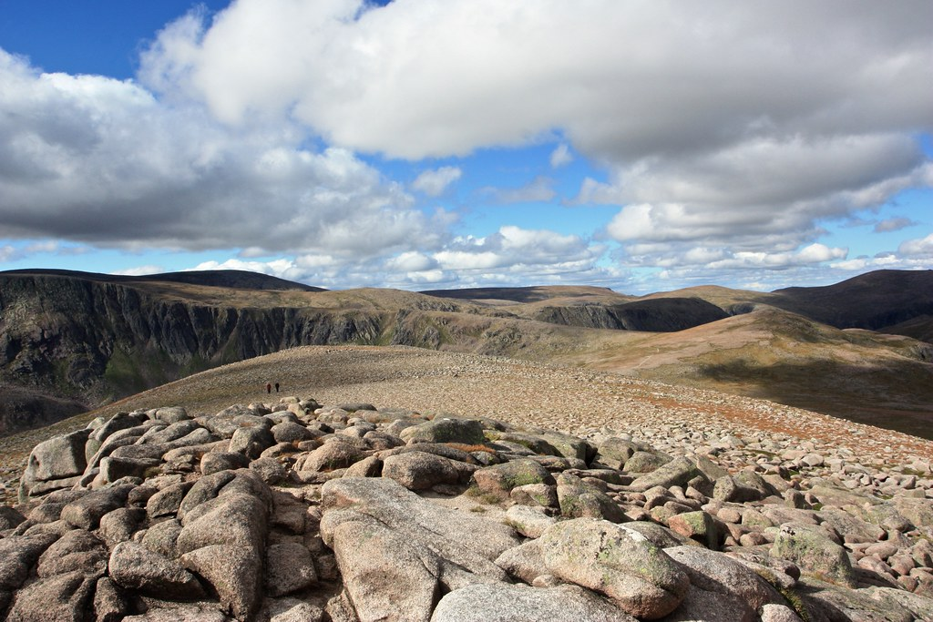 High plateau of the Cairngorms