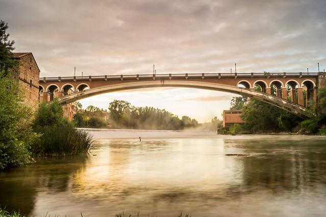 pont Saint-Michel , Gaillac