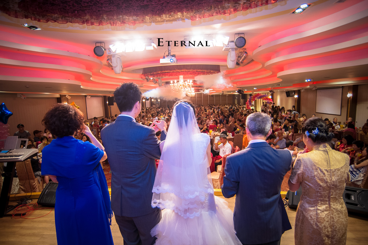 新竹 推薦 婚攝 永恆的幸福 新莊晶華亭 婚禮紀錄