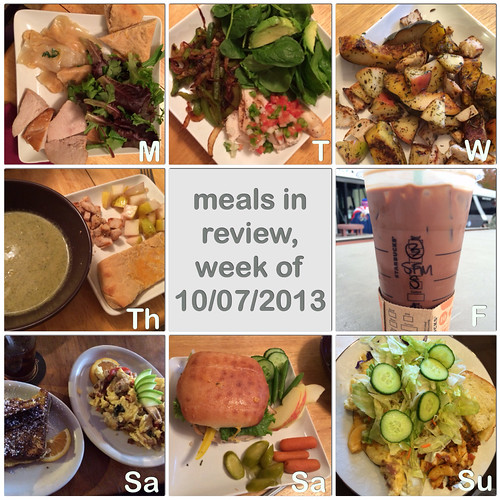 meals in review, week of 10/07/2013