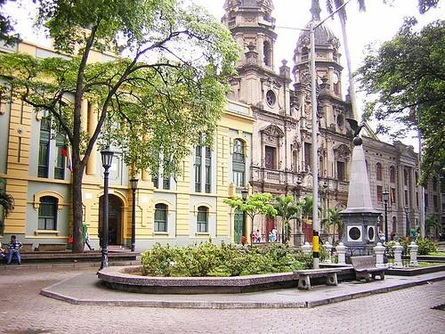 Plazuela San Ignacio, Medellin (public domain)