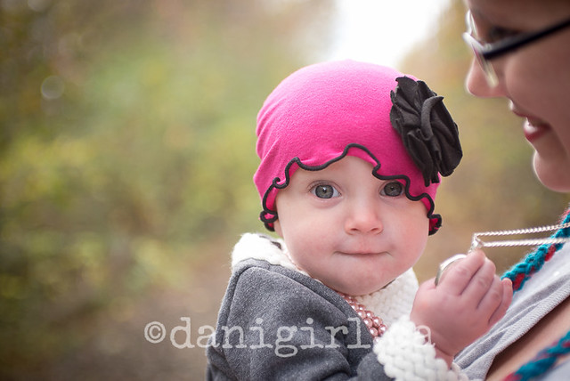 Pretty in a pink hat