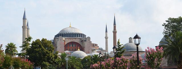 Panorámica de Santa Sophia, la mezquita de Turquía