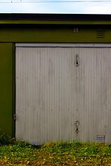 garage door, garage, door, facade,