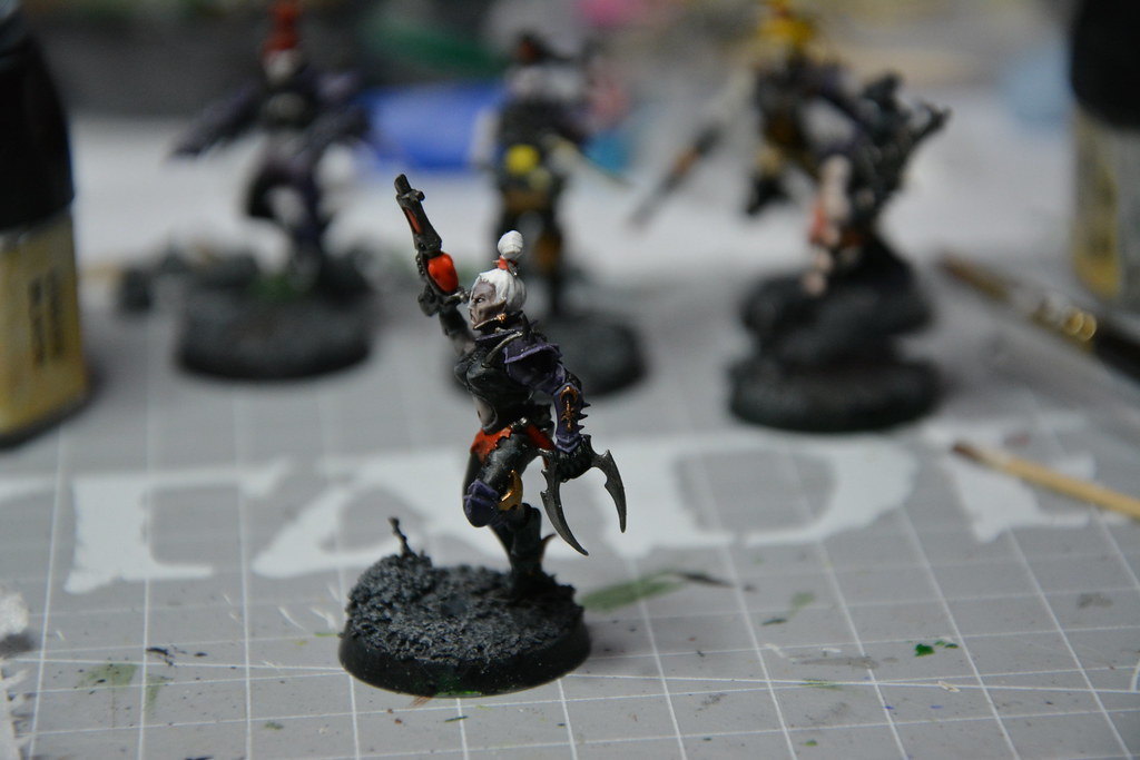 Cult of Bladed Violet & Kabal of Violet Storm - DE witches conversion! 10593697146_08d04eaf9b_b