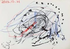 アートっぽいお絵描き 2013/10