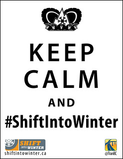 Keep Calm and Shift Into Winter